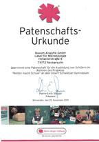 Novum Analytik - Sponsor Björn-Steiger-Stiftung 2019